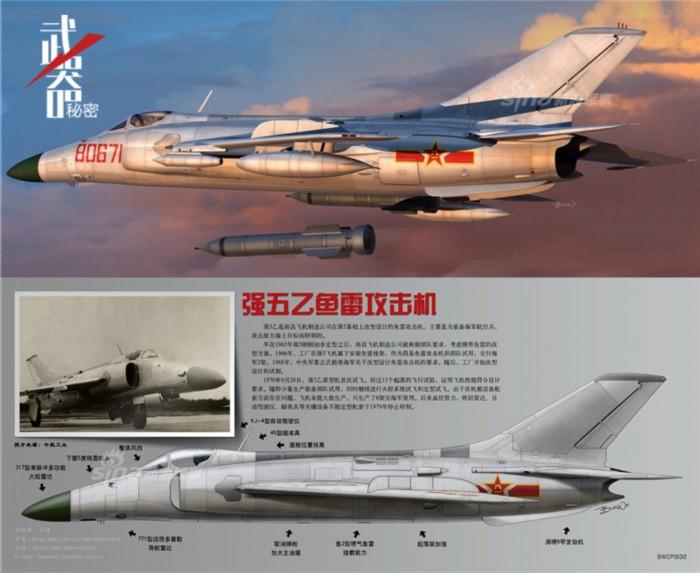 最具美英战机风格 中国强5强击机发展史(高清组图)