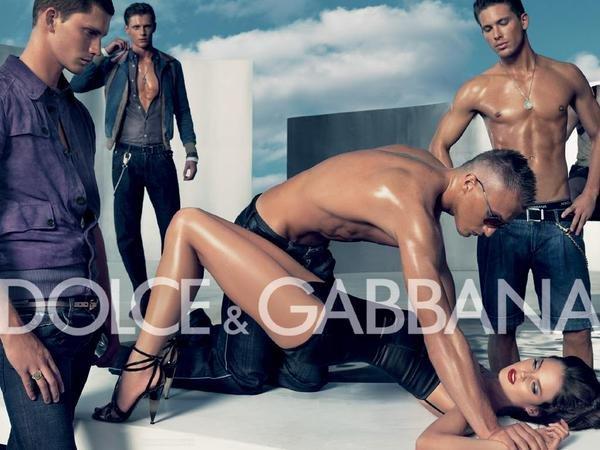 D&G 因「轮奸」广告起风波