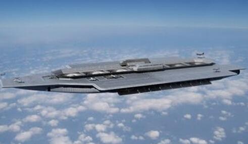 美国 航天母舰 明年试飞 可携大量战机核弹