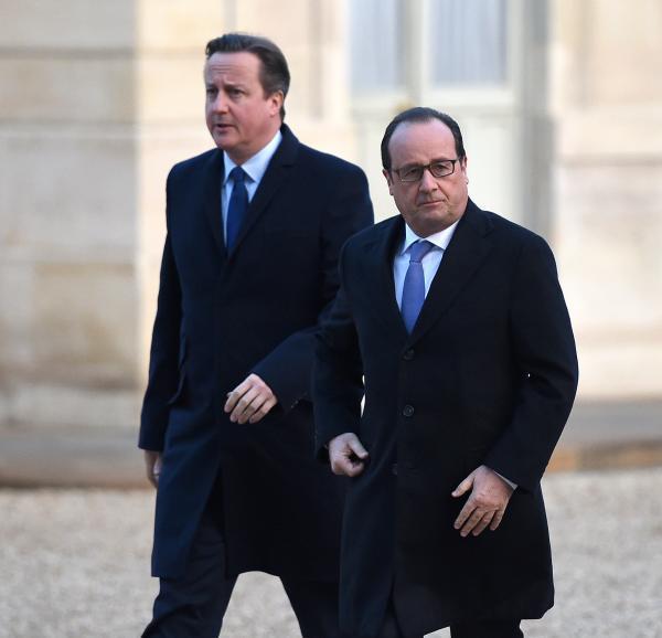 卡梅伦:战胜IS 英国应与法国一起在叙利亚实施空袭_图1-1