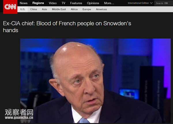 CNN主播问巴黎恐袭后谁在激化矛盾 嘉宾答:CNN_图1-4