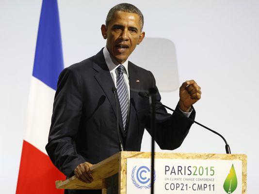 奥巴马吁各国领导人勇于面对环境挑战:下一代正看着我们_图1-1