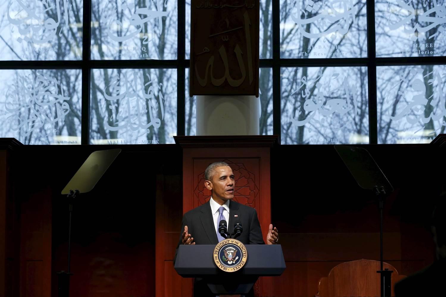 奥巴马访问巴尔的摩清真寺 亚裔社区领袖高度赞扬_图1-1