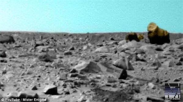 火星上发现大猩猩?