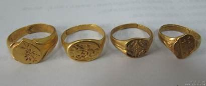 男子寺庙厕所内捡到10余枚金戒指 来源成谜(图)