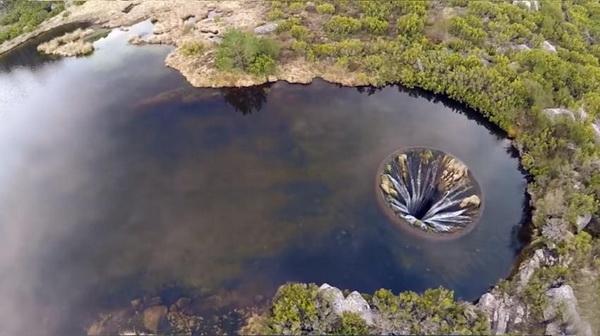 葡萄牙现地球破洞原因分析 难道是外星人的杰神秘而又诡异?