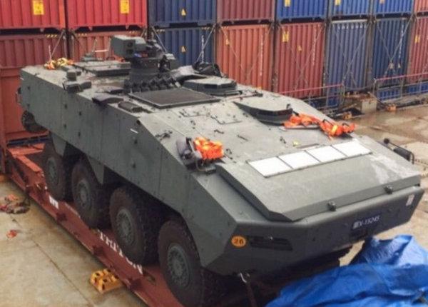 香港查扣新加坡装甲车事件 中国:要求新方恪守一个中国原则_图1-1