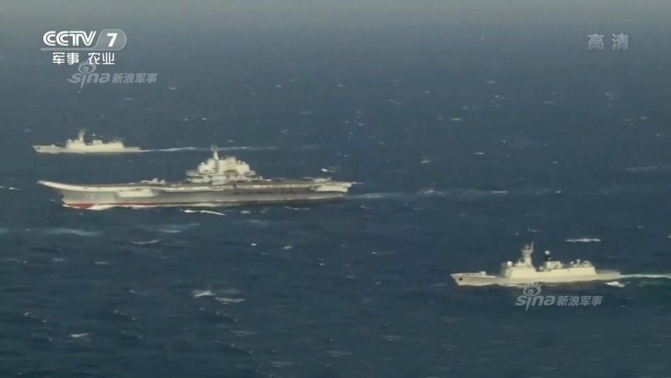 中美航母南海较量谁更胜一筹:中方兵力是美军数倍_图1-1
