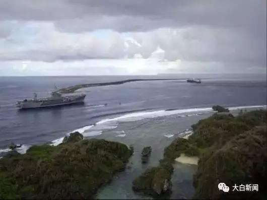 美军在关岛的军事基地 资料图