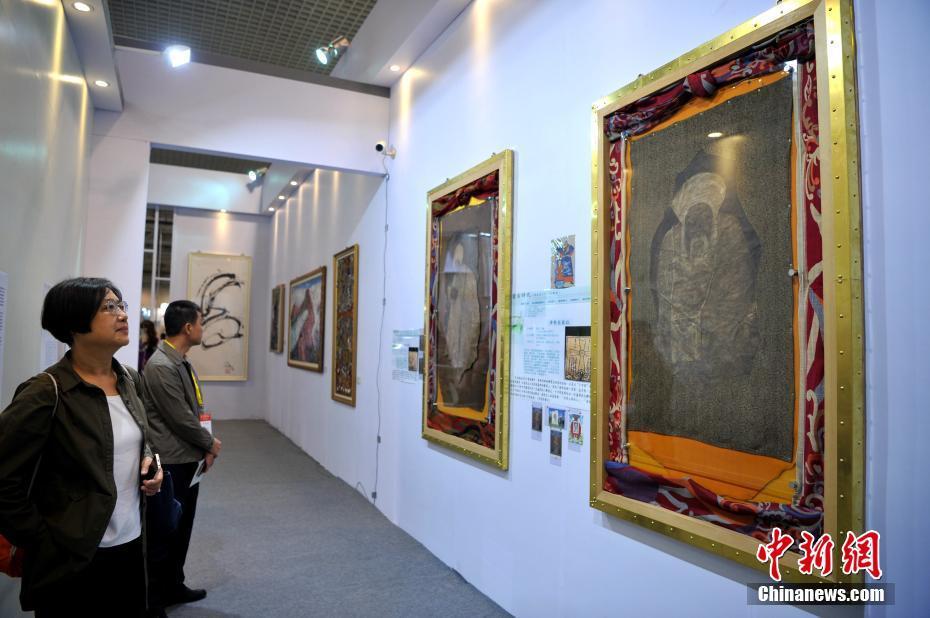 """""""成吉思汗画像""""首次在中国大陆公开展出_图1-1"""