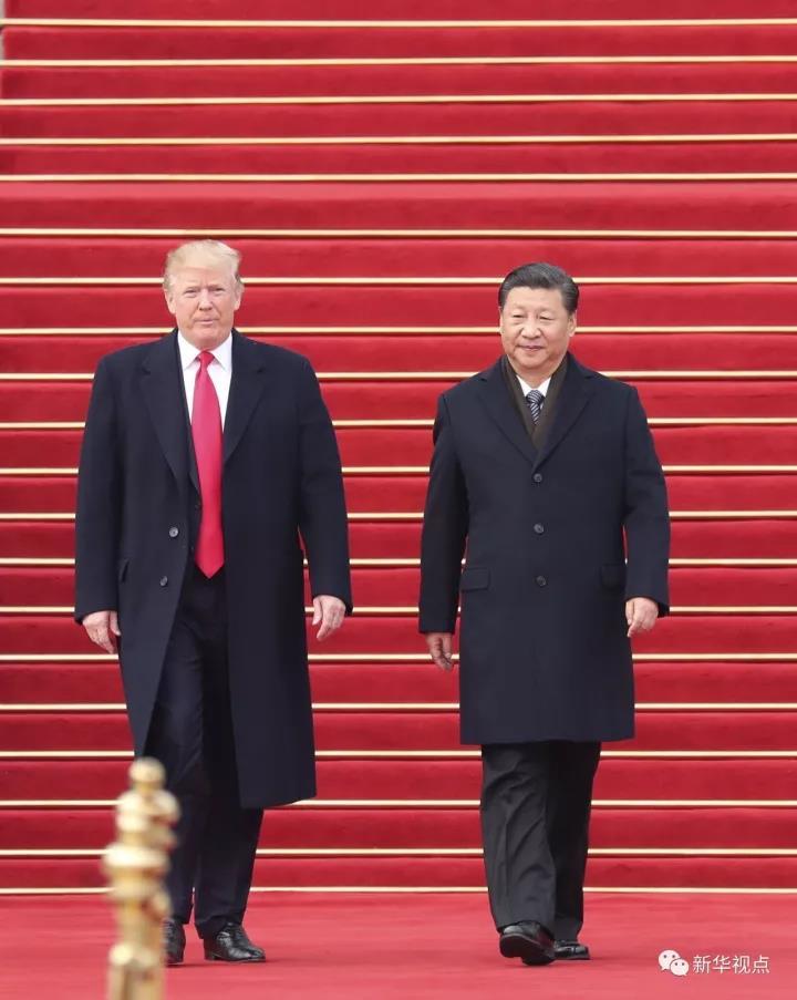 川普访华,中国不声不响中取得了这五大成就!_图1-3