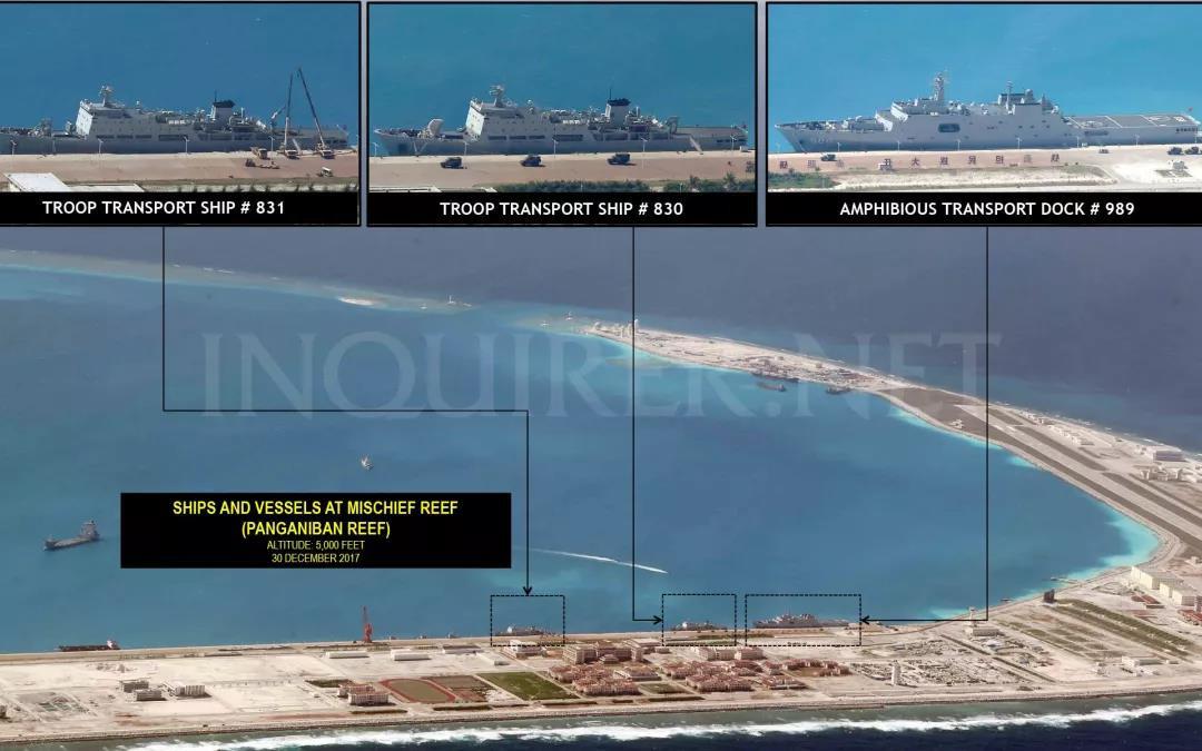"""菲媒:中国南海岛礁建设""""接近完成"""""""