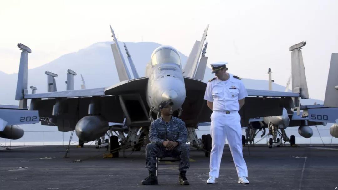 """美国航母""""抵近"""",中国表现淡定的底气在这里――_图1-2"""