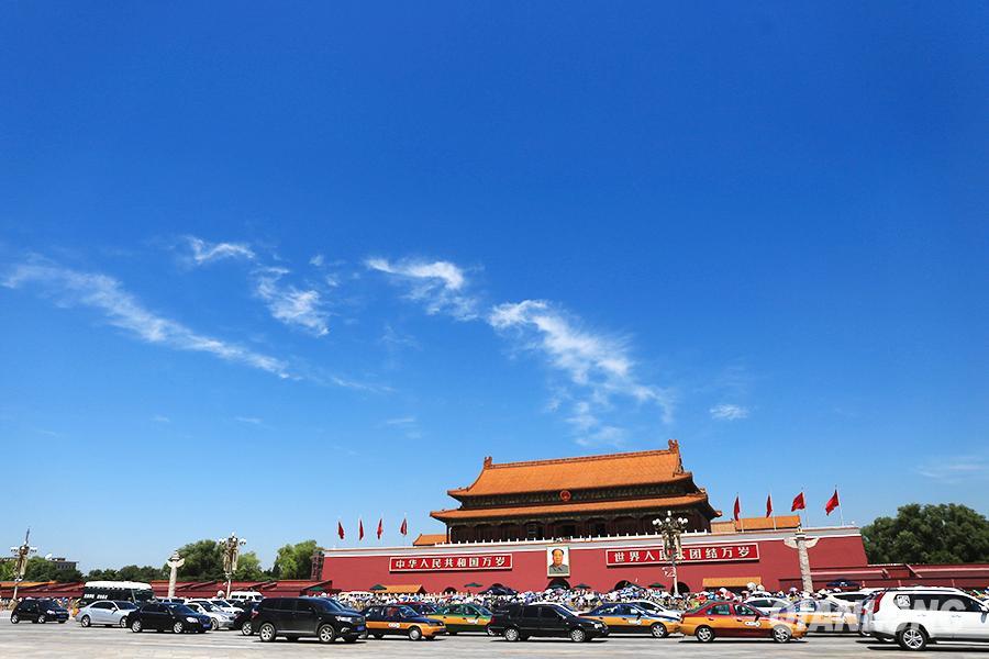 美报告称中国空气污染治理卓有成效:4年细颗粒物下降32%_图1-1