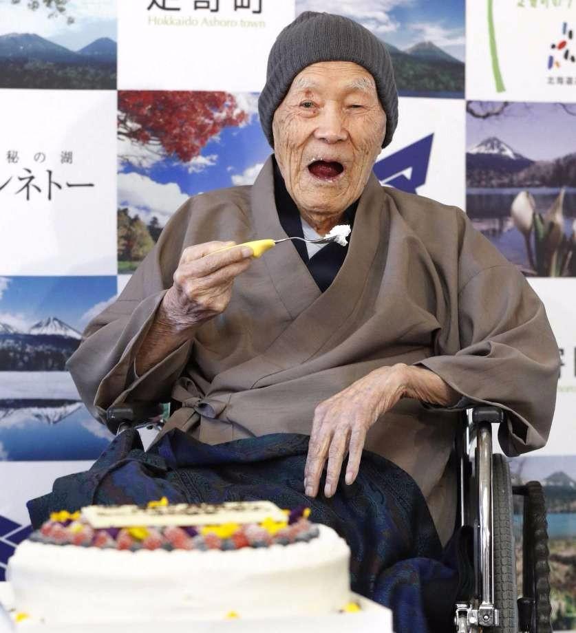 日本112岁男子被认定为全世界最长寿在世男性 长寿秘诀是…_图1-5