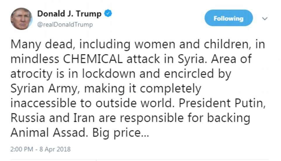 为空袭叙利亚造势? 川普发出高级将领齐聚白宫照片_图1-5