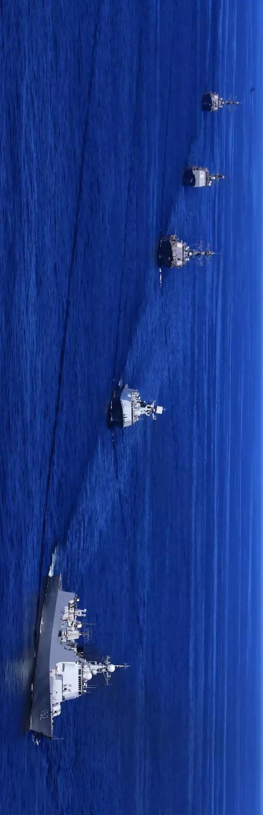 为什么南海大阅兵提前结束?三个重磅信号!_图1-4