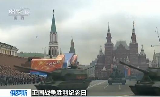 俄罗斯红场阅兵最终彩排 先进武器登场_图1-4