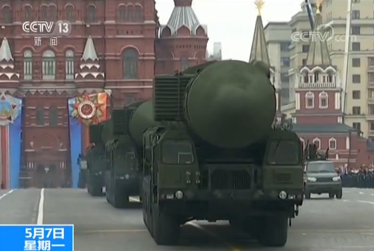 俄罗斯红场阅兵最终彩排 先进武器登场_图1-5