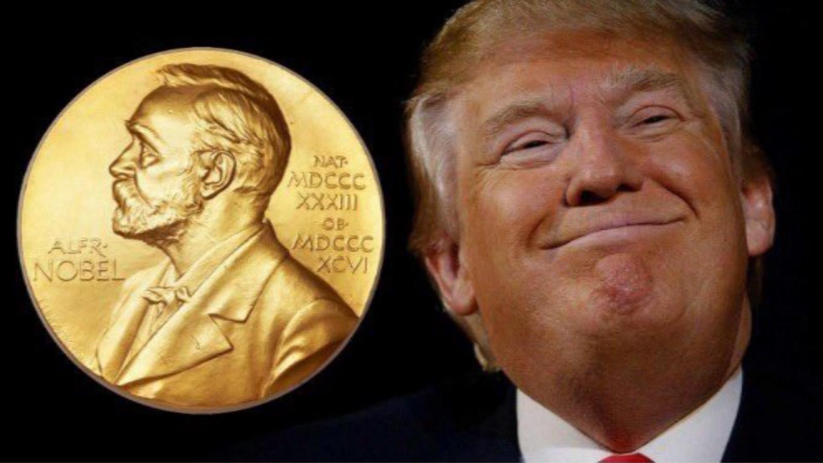 """川普获诺贝尔和平奖提名 白宫顾问:这位总统是赢得 奥巴马是""""白捡""""_图1-1"""