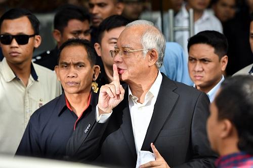 外媒称马来西亚警方再搜纳吉布住所:惊见上亿美元珠宝