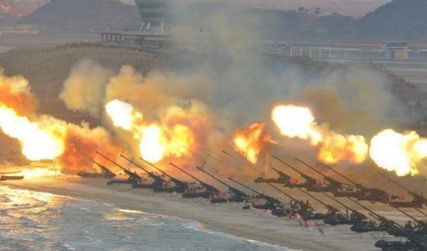 俄媒称边境大炮是朝鲜最后王牌:韩国很紧张 撤走不易_图1-3