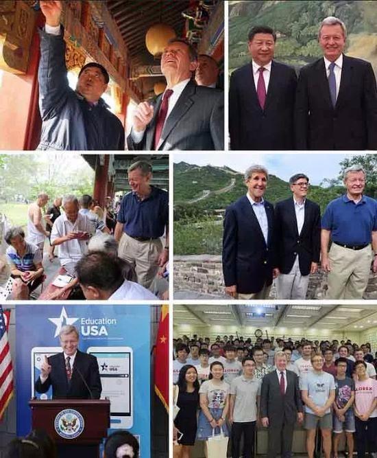 美国驻华大使都走访了多少个中国省份?_图1-4