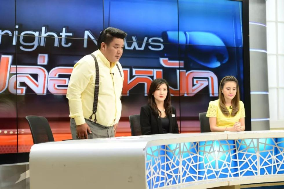 """说""""中国人自己带中国人来死"""",泰国电视主播鞠躬道歉_图1-3"""