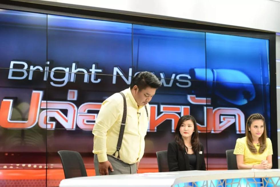 """说""""中国人自己带中国人来死"""",泰国电视主播鞠躬道歉_图1-4"""