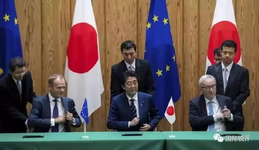 日本和欧盟抱团搞自贸 这是要造美国的反?_图1-1