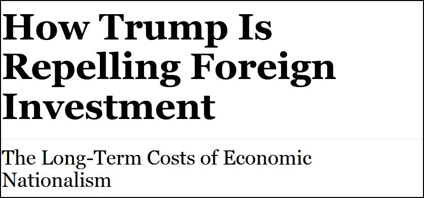 被贸易战吓走?美国吸引外国直接投资下跌1/3_图1-3