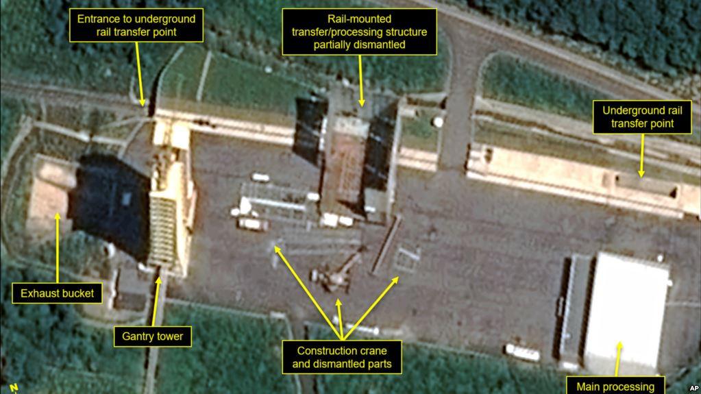 """美情报显示朝鲜在建造新弹道导弹?白宫:""""这没什么""""_图1-1"""