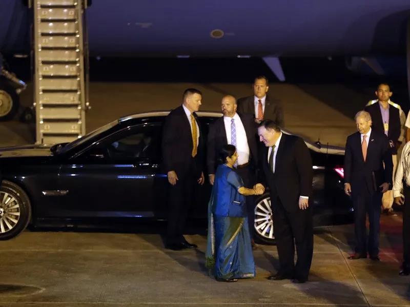 """想干什么?美防长和国务卿竟一起跑到印度""""聊中国""""……_图1-2"""