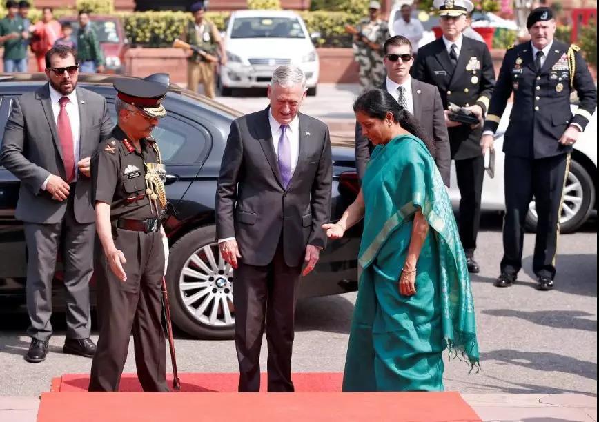 """想干什么?美防长和国务卿竟一起跑到印度""""聊中国""""……_图1-3"""