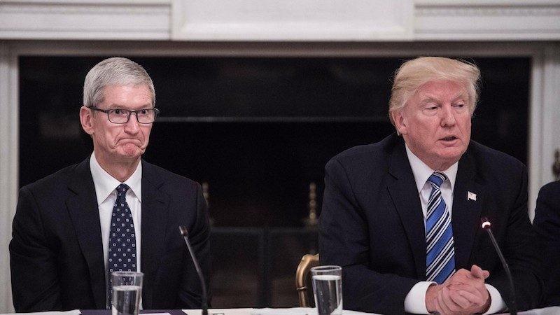 苹果警告升级美中贸易战将使产品涨价 川普:那你在美国建厂啊_图1-1