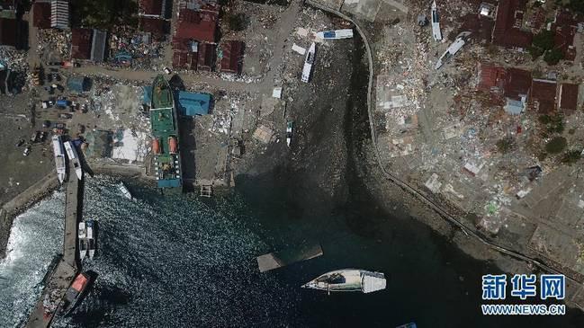 印尼强震及海啸死亡人数升至2045人_图1-1