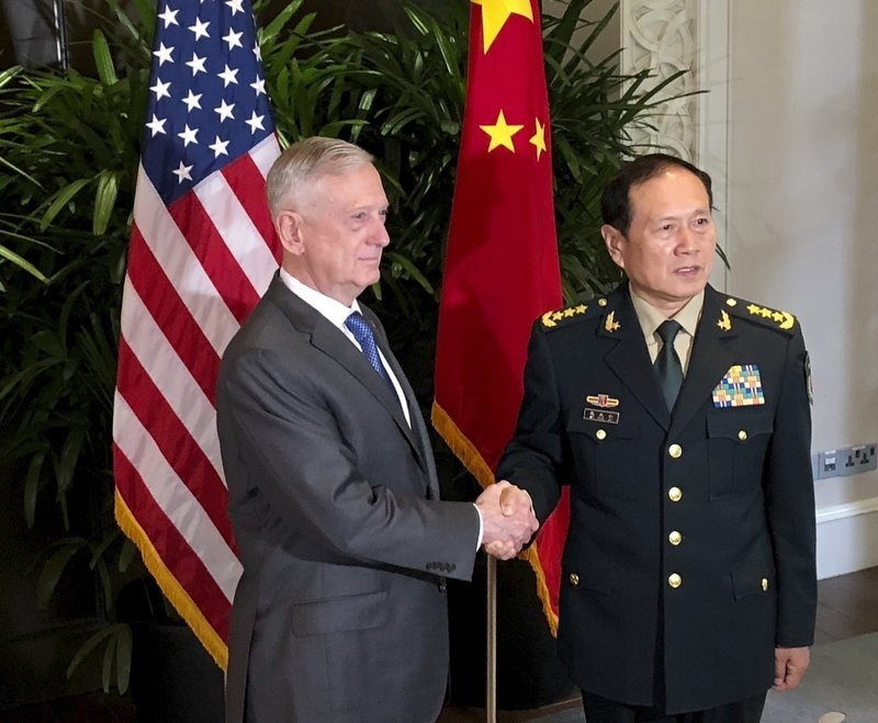 五角大楼:中国国防部长魏凤和本周访美 将与马蒂斯会谈_图1-1