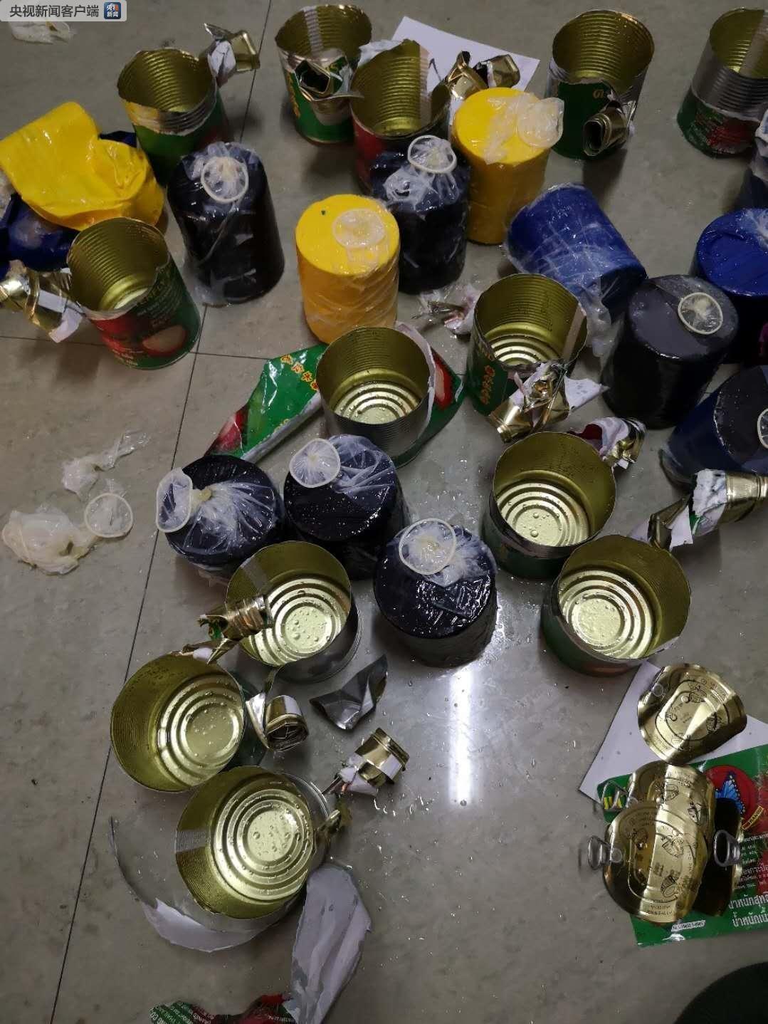 云南出入境边防去年缴毒逾10吨 打掉涉毒团伙86个_图1-3