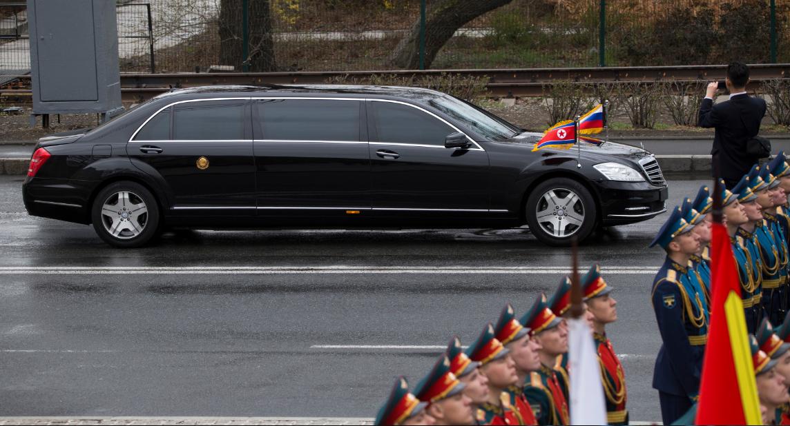 金正恩豪华装甲奔驰车从哪来的?戴姆勒:与朝鲜没有业务往来_图1-4