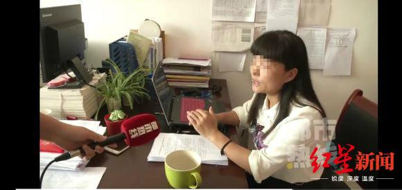 ↑商丹高新学校政教处两名工作人员