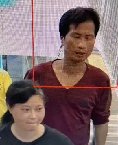 7月4日高铁站监控梁、谢二人出现画面 图据淳安县公安局微信公众号