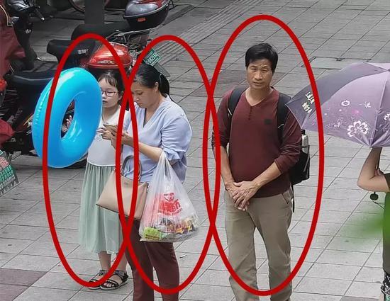 7月7日三人监控出现画面 图据淳安县公安局微信公众号
