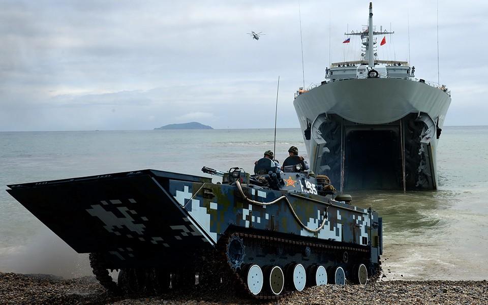 中国国防部:解放军近日在东南沿海组织例行性演习_图1-1