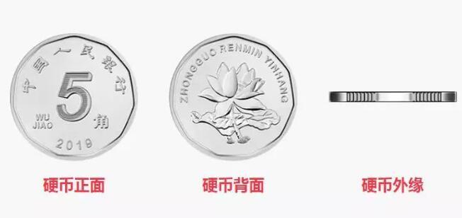新版五角硬币图案
