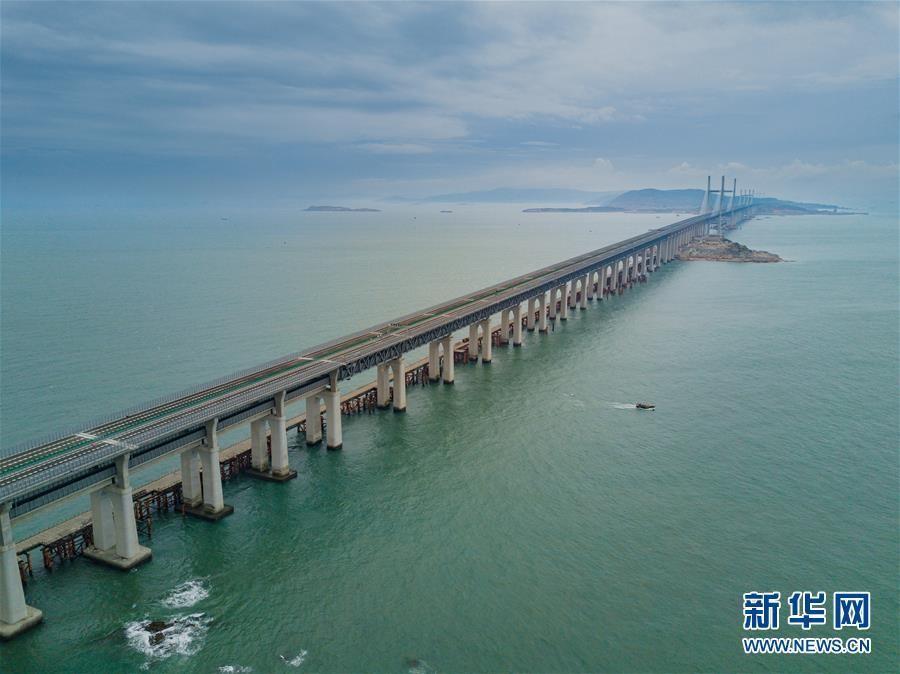 福建平潭海峡公铁两用大桥即将完成静态验收_图1-1