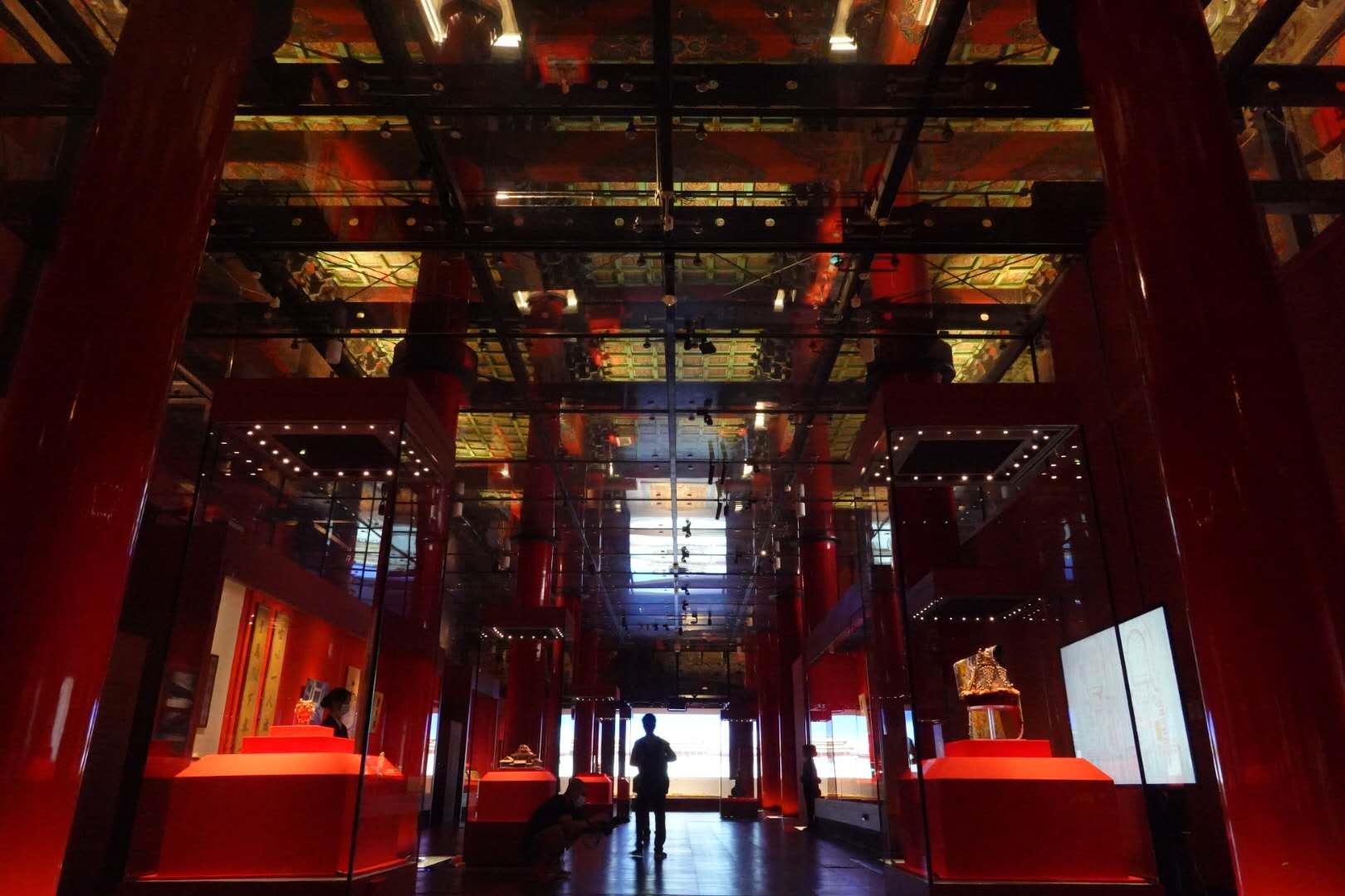 紫禁城建成六百年大展登场 深宫漆纱两百年来首展出_图2-3