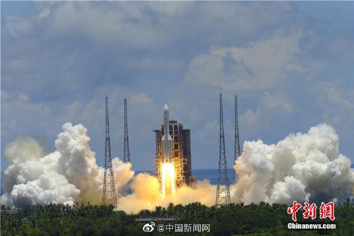 中国天问一号火星探测器飞行路程达1.37亿千米_图1-3