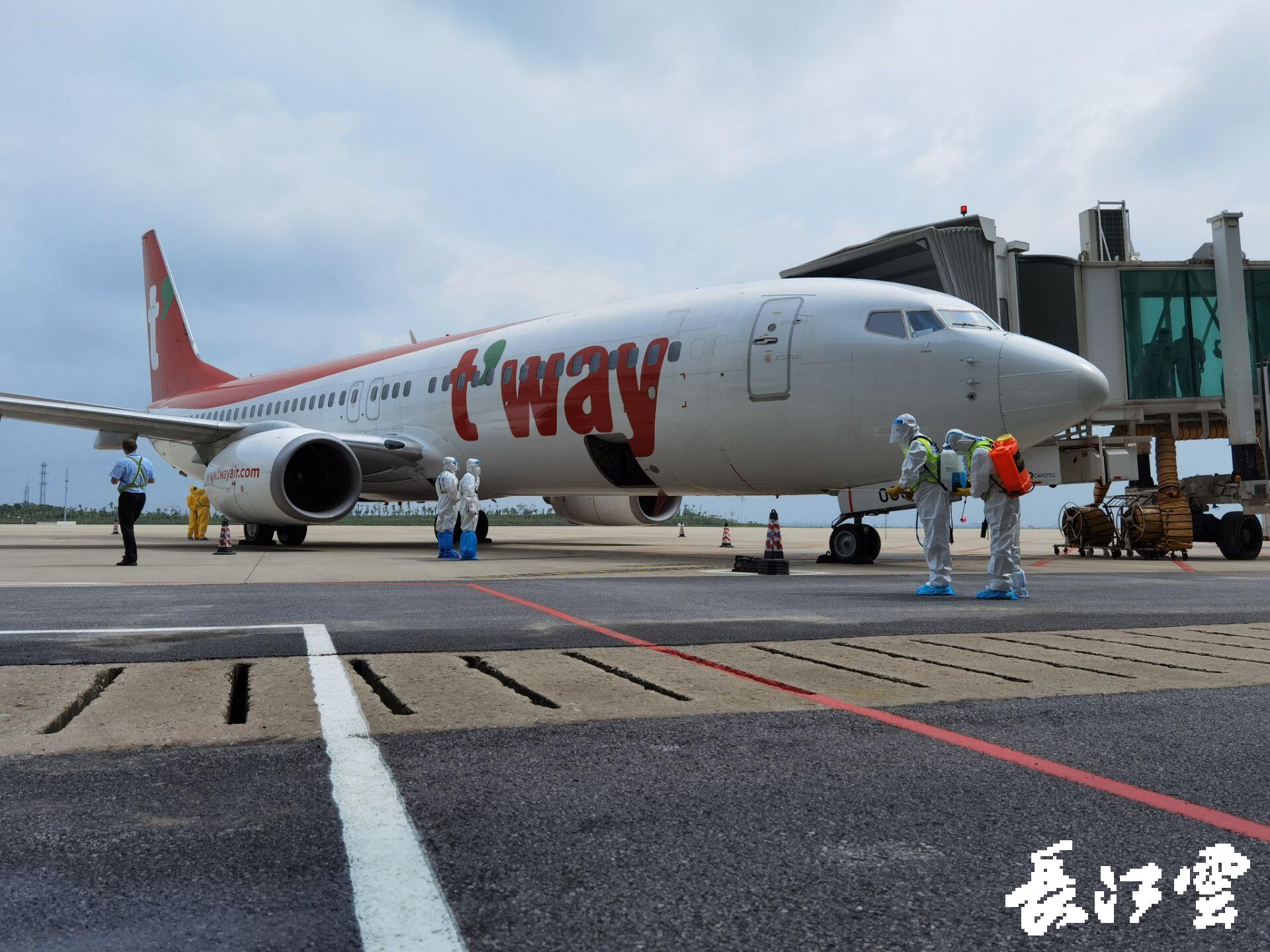 湖北时隔8个月后复航国际客运航线 武汉飞首尔_图1-4
