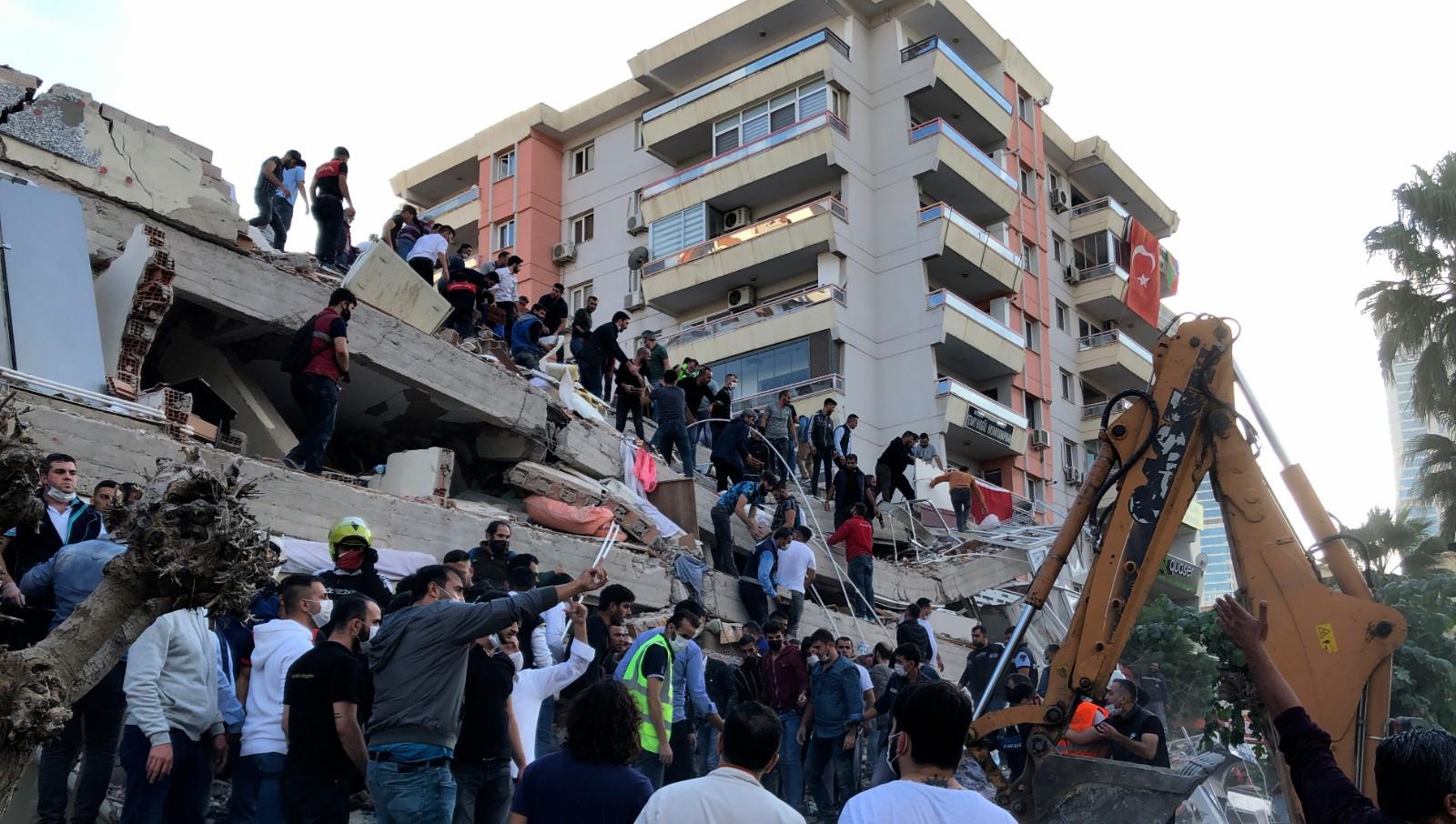 爱琴海发生强震 土耳其、希腊8人死亡逾百人受伤_图1-4