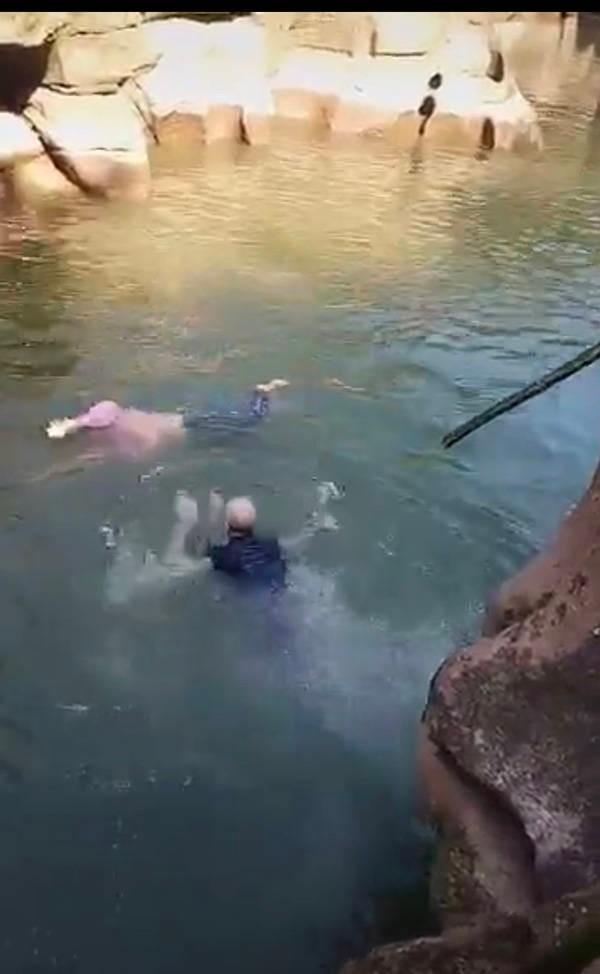 61岁新任英国驻重庆总领事跳水救人 曾获铁人三项冠军_图1-4